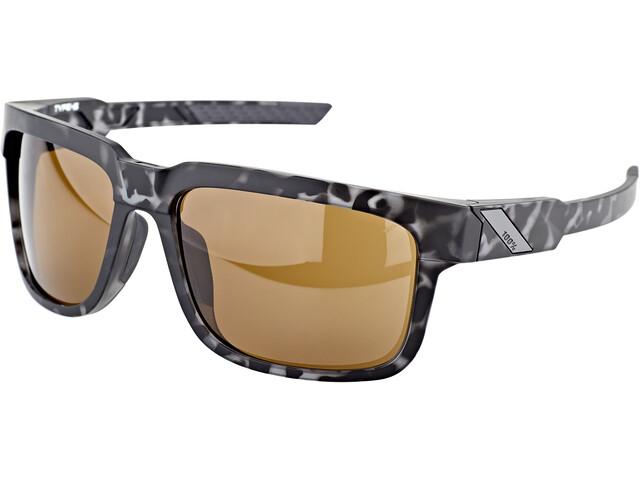 100% Type S Glasses matte black havana/smoke